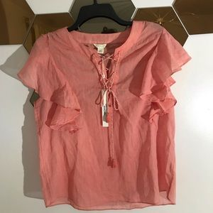 Caslon Top New Small S Pink Coral